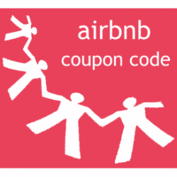 Logo Airbnb coupon code